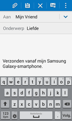 Samsung G357 Galaxy Ace 4 - E-mail - hoe te versturen - Stap 9