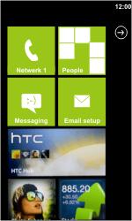 HTC 7 Trophy - Netwerk - gebruik in het buitenland - Stap 12