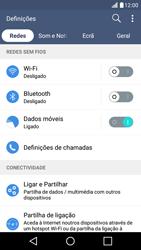 LG K10 4G - Wi-Fi - Como ligar a uma rede Wi-Fi -  4
