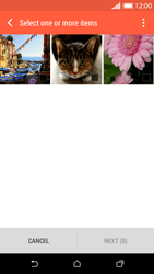 HTC Desire 610 - E-mail - Envoi d