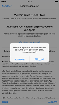 Apple iPhone 6 Plus met iOS 9 (Model A1524) - Applicaties - Account aanmaken - Stap 11