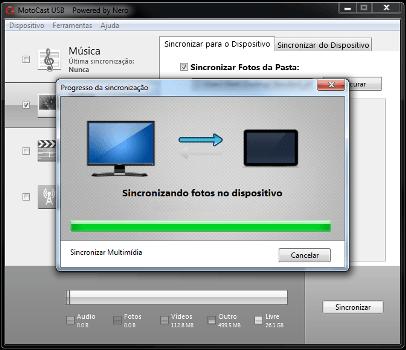 Motorola Moto X - Conexão com PC - Como transferir arquivos do computador para seu celular - Etapa 9