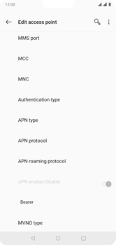 OnePlus 6 - Internet - Manual configuration - Step 13