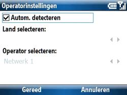 Samsung C6620 - Bellen - in het buitenland - Stap 9
