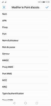 Huawei P20 Pro - MMS - configuration manuelle - Étape 11