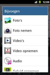 Samsung S7500 Galaxy Ace Plus - MMS - Afbeeldingen verzenden - Stap 11