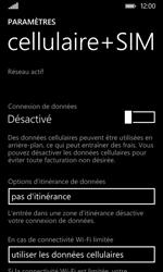 Nokia Lumia 530 - Internet - activer ou désactiver - Étape 6