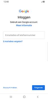 Samsung galaxy-s8-sm-g950f-android-pie - Applicaties - Account aanmaken - Stap 5