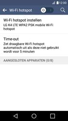 LG K4 - WiFi - Mobiele hotspot instellen - Stap 9