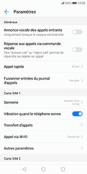 Huawei Mate 10 Pro - Messagerie vocale - configuration manuelle - Étape 6
