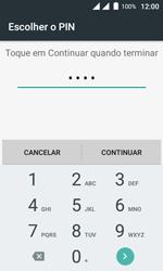 Wiko Sunny DS - Segurança - Como ativar o código de bloqueio do ecrã -  8