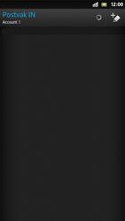 Sony LT26i Xperia S - E-mail - Handmatig instellen - Stap 5