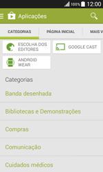 Samsung Galaxy Core II - Aplicações - Como pesquisar e instalar aplicações -  6