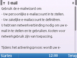 Nokia E5-00 - E-mail - handmatig instellen - Stap 7