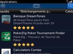 BlackBerry curve 3G - Applications - Télécharger une application - Étape 13