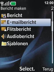 Nokia 6600i slide - E-mail - Hoe te versturen - Stap 5