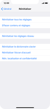 Apple iPhone XS - Appareil - Restauration d