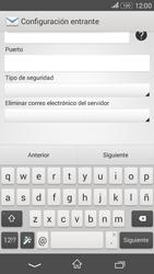 Sony Xperia E4g - E-mail - Configurar correo electrónico - Paso 10
