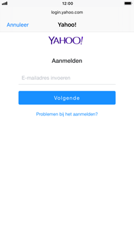 Apple iPhone 6 Plus - iOS 11 - E-mail - handmatig instellen (yahoo) - Stap 6