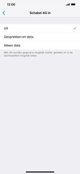 Apple iPhone XR - Netwerk - Wijzig netwerkmodus - Stap 7