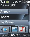 Nokia 2330 classic - MMS - envoi d'images - Étape 13