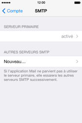 Apple iPhone 4 S iOS 7 - E-mail - Configuration manuelle - Étape 22