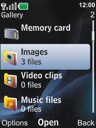 Nokia 6600i slide - MMS - Sending pictures - Step 12