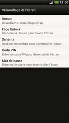 HTC One S - Sécuriser votre mobile - Activer le code de verrouillage - Étape 6