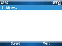 Samsung C6620 - Internet - handmatig instellen - Stap 8