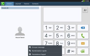 Samsung P5220 Galaxy Tab 3 10-1 LTE - Messagerie vocale - configuration manuelle - Étape 6