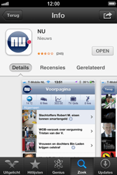 Apple iPhone 4 (iOS 6) - apps - app store gebruiken - stap 11