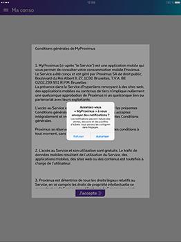 Apple iPad Pro 12.9 (1st gen) - iOS 10 - Applications - MyProximus - Étape 11