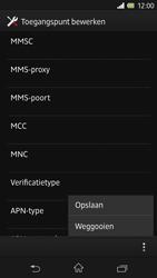 Sony C6603 Xperia Z - MMS - Handmatig instellen - Stap 15