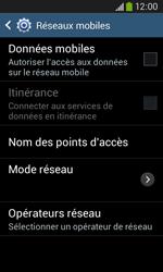 Samsung Galaxy Core Plus - Internet - Activer ou désactiver - Étape 8