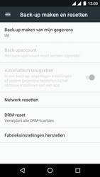 Android One GM6 - Toestel reset - terugzetten naar fabrieksinstellingen - Stap 5