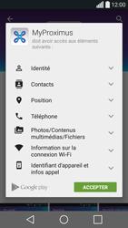 LG H420 Spirit - Applications - MyProximus - Étape 9