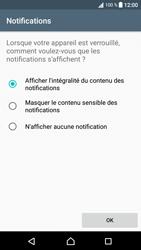 Sony Xperia XA1 - Sécuriser votre mobile - Activer le code de verrouillage - Étape 12