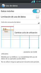 LG Optimus L9 - Internet - Ver uso de datos - Paso 6