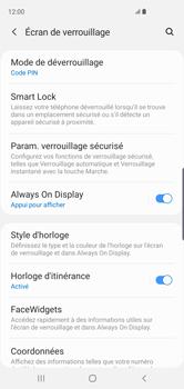 Samsung Galaxy S10 - Sécurité - activéz le code PIN de l'appareil - Étape 13