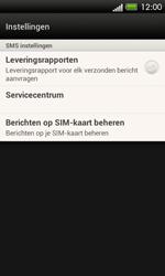 HTC C525u One SV - SMS - handmatig instellen - Stap 7
