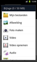 Samsung I8530 Galaxy Beam - E-mail - hoe te versturen - Stap 10
