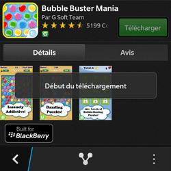 BlackBerry Q10 - Applications - Télécharger une application - Étape 20