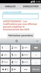 Huawei Ascend Y530 - SMS - configuration manuelle - Étape 6