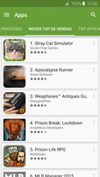 Samsung Galaxy S6 - Aplicativos - Como baixar aplicativos - Etapa 10