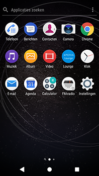 Sony Xperia XA2 Ultra - Internet - hoe te internetten - Stap 2