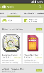 LG F70 - Applications - Télécharger une application - Étape 5