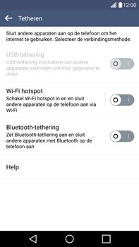 LG G4 - WiFi - Mobiele hotspot instellen - Stap 5