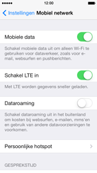 Apple iPhone 5s - Internet - Mobiele data uitschakelen - Stap 4