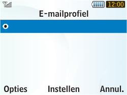 Samsung S3350 Chat 335 - E-mail - Handmatig instellen - Stap 7