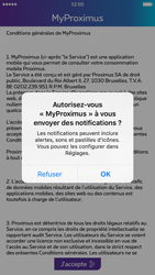 Apple iPhone 6 iOS 9 - Applications - MyProximus - Étape 10